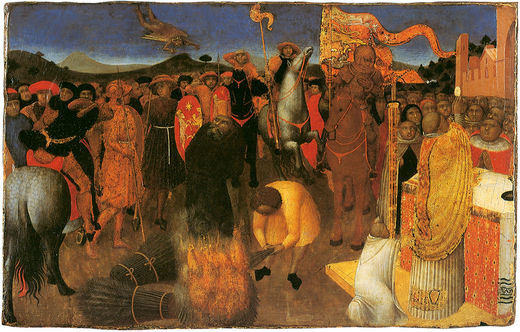 The Burning of Heretics