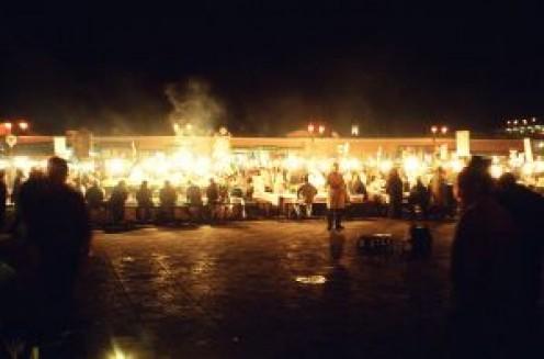 Night markets of Marrakech