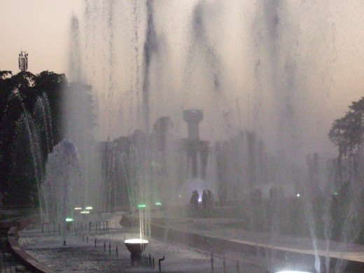 Fountain in Racecourse Park, Lahore
