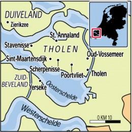 Location of Oud Vossemeer - Netherlands
