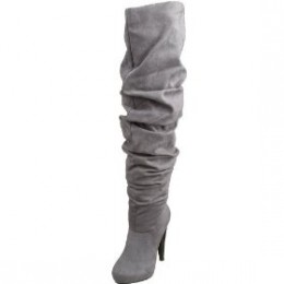 Thigh high boot for day or night time