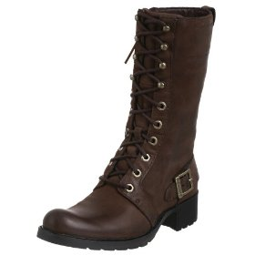 Timberland women's lace up boot
