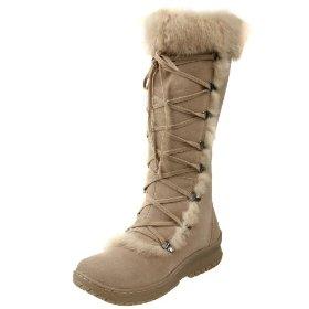 Knee High fur boots
