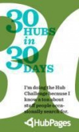 Im taking part in the March 2010 Helpful Health Hubs Contest of 30 Hubs in 30 Days. Visit my other Hubs and help with the celebration of Health & Wellness Month.