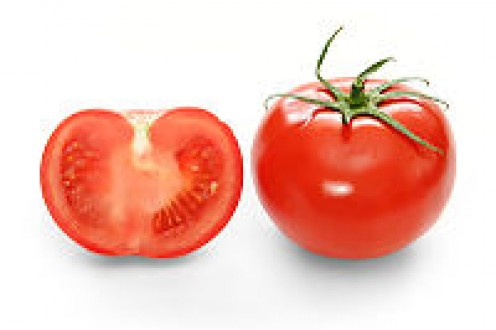 Wikipedia Cross-section and full view of a ripe tomato