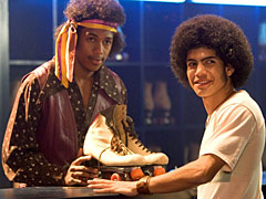 "From ""Roll Bounce"" - not one of the best movies about the 1970s *g*"