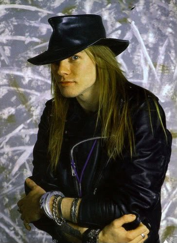 AXL Rose hairstyle