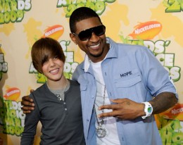 Justin and Usher