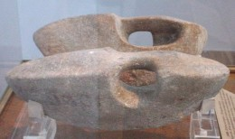 halteres used by Greeks in ancient times for weight training