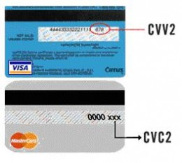 Every credit card has a card security code printed on it. It may be called a CSC, a card verification value (CVV or CV2), card verification code (CVC) or card code verification (CCV), but you need to know what -- and more importantly, where -- it is.
