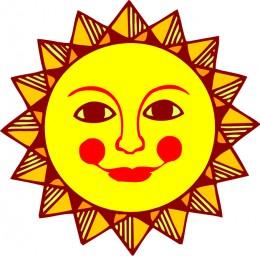 The healing sun