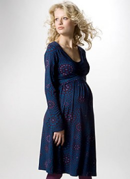 Wrap dresses for pregnant women