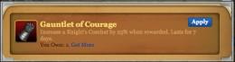 Gauntlets of Courage