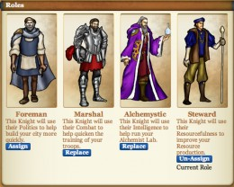 Roles of Knights