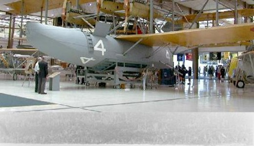 NC-4 Where it can be viewed today in the U.S. Naval Air Museum in Pensacola, Florida.