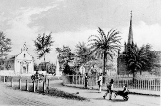 Public Square, St. Augustine, ca. 1858