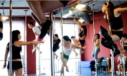 Pole Dancing Toning Exercises for Women