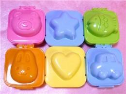 Bento egg molds