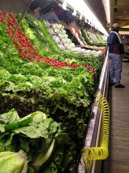 Industrial Vegetable Rack