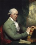 BENJAMIN WEST AS PAINTED BY GILBERT STUART IN 1784