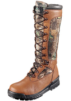 An example of RedHead Bayou Snake Proof Boots.