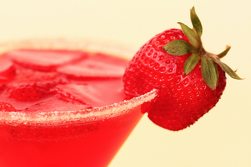 Strawberry Martini Cocktail by D Sharon Pruitt