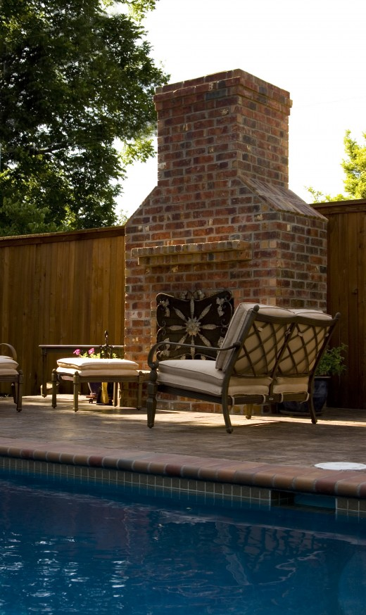 An Outdoor Fireplace Can Look Much Like A Traditional Fireplace