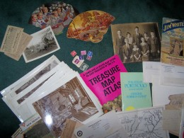 A small portion of my paper (ephemera) collection!