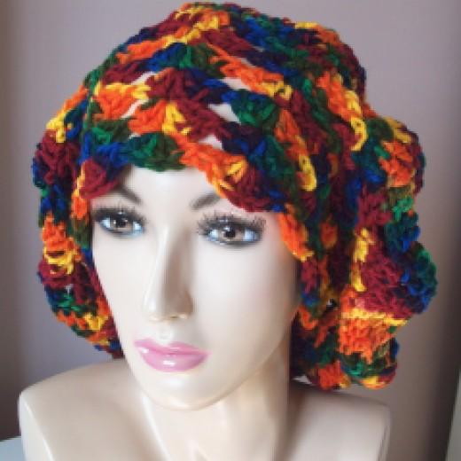 Rasta Wave Hat