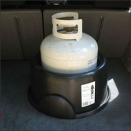 The Tank Nanny with Propane Storage Tank