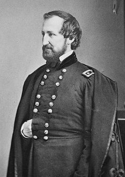 General William S. Rosecrans -  Commander of the Union Army of the Mississippi