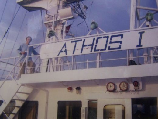 My third vessel. M/T Athos 1 (2003)