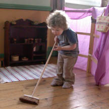 Can I sweep Mom?