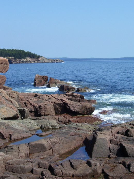 Acadia National Park near Thunder Hole