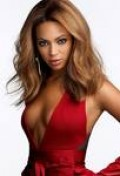 I love the dress Beyonce is wearing or lack of dress