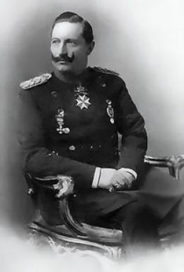 Kaiser Wilhelm II of Germany.