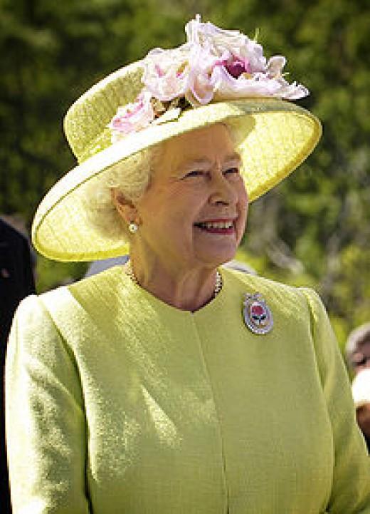 Elizabeth II. A happy result.