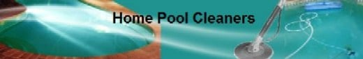 Pool with a simple automatic cleaner.