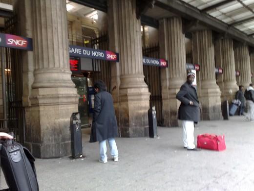 Front of Gare du Norde