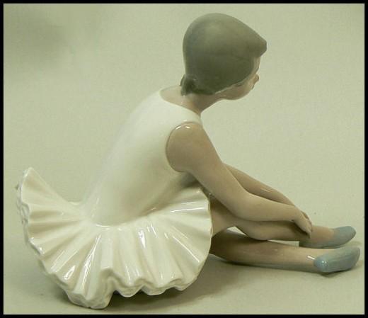 nao lladro ballerina figurine