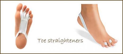 Toe straighteners