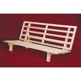 Wooden futon frames