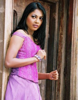 Himali Sayurangi Cute Sri Lankan Girl