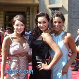 As The World Turns actresses Daytime Emmys taken by Christine Fix