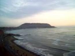 Morro Solar at the far end of Costa Verde, in Chorrillos, Lima, Peru.