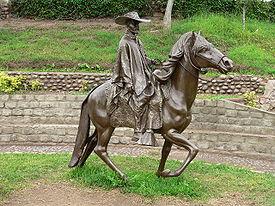 Statue to Chabuca Granda's Jose Antonio.