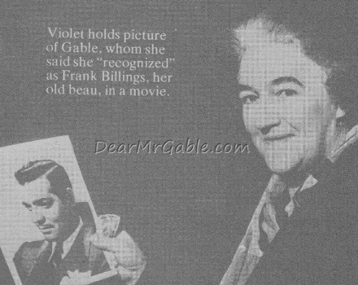 Violet (with thanks to Dear Mr Gable.com)