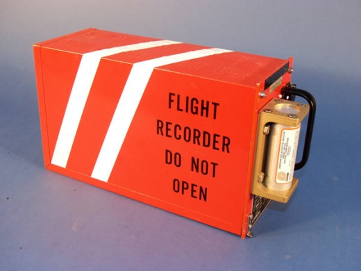 This is what a Flight Data Recorder looks like.
