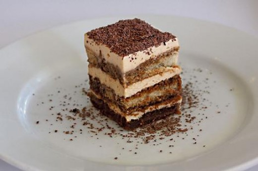 The key to a great Tiramisu cake is a tasty batch of light espresso-dipped lady fingers!