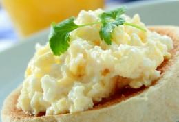 Creamy Dreamy Scrambled Eggs